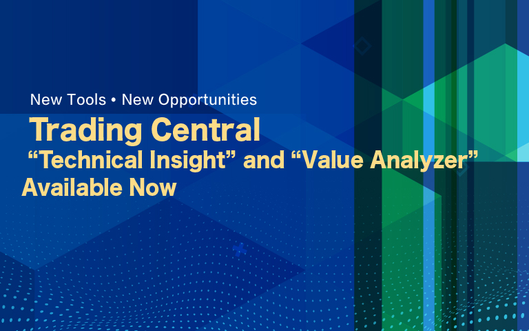 Trading Central 'Technical Insight' and 'Value Analyzer'